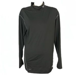 Nike pro tight fit long sleeve tee turtleneck